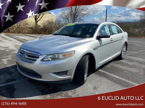 2010 Ford Taurus for sale at 6 Euclid Auto LLC in Bristol VA