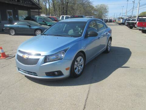 2012 Chevrolet Cruze for sale at Jims Auto Sales in Muskegon MI