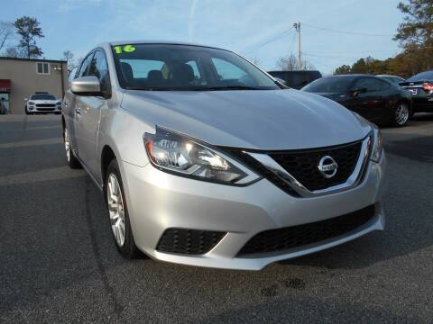 2016 Nissan Sentra for sale at AutoStar Norcross in Norcross GA