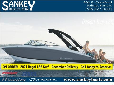 2021 Regal LS6 Surf for sale at SankeyBoats.com in Salina KS