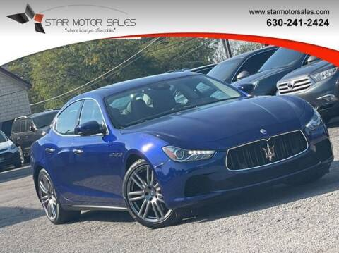 2017 Maserati Ghibli for sale at Star Motor Sales in Downers Grove IL