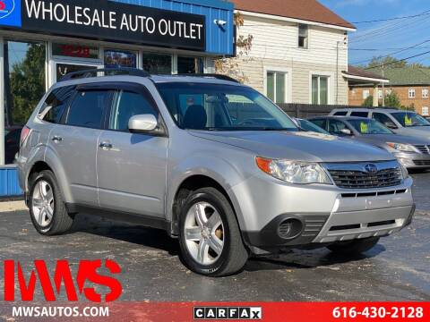 2010 Subaru Forester for sale at MWS Wholesale  Auto Outlet in Grand Rapids MI