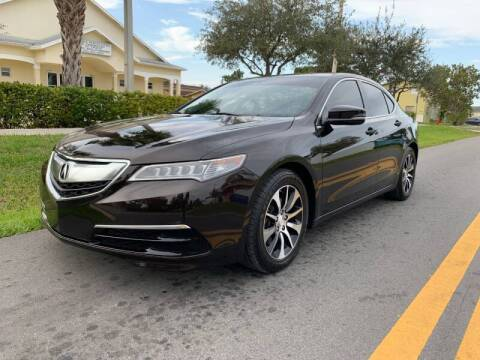 2016 Acura TLX for sale at GTR Motors in Davie FL