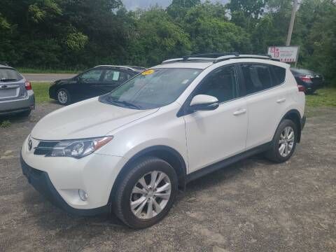 2014 Toyota RAV4 for sale at B & B GARAGE LLC in Catskill NY