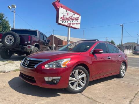 2013 Nissan Altima for sale at Southwest Car Sales in Oklahoma City OK