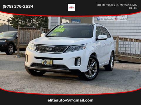 2014 Kia Sorento for sale at ELITE AUTO SALES, INC in Methuen MA