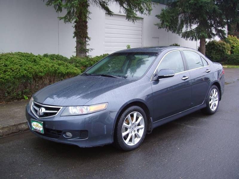 2007 Acura TSX for sale at K W Imports in Salem OR