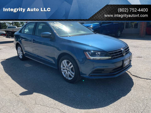 2018 Volkswagen Jetta for sale at Integrity Auto LLC - Integrity Auto 2.0 in St. Albans VT