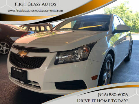 2014 Chevrolet Cruze for sale at Car Source Center in West Sacramento CA