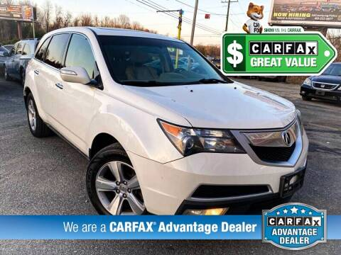 2012 Acura MDX for sale at High Rated Auto Company in Abingdon MD