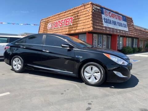 2013 Hyundai Sonata Hybrid for sale at CARSTER in Huntington Beach CA