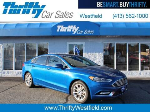 2017 Ford Fusion for sale at Thrifty Car Sales Westfield in Westfield MA