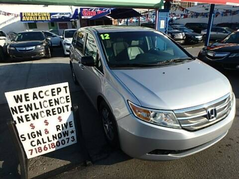 2012 Honda Odyssey for sale at Cedano Auto Mall Inc in Bronx NY