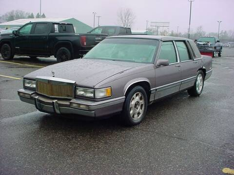 1992 Cadillac DeVille for sale at VOA Auto Sales in Pontiac MI
