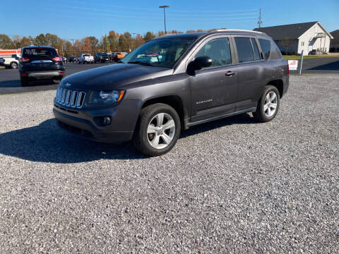 2016 Jeep Compass for sale at McCully's Automotive - Under $10,000 in Benton KY