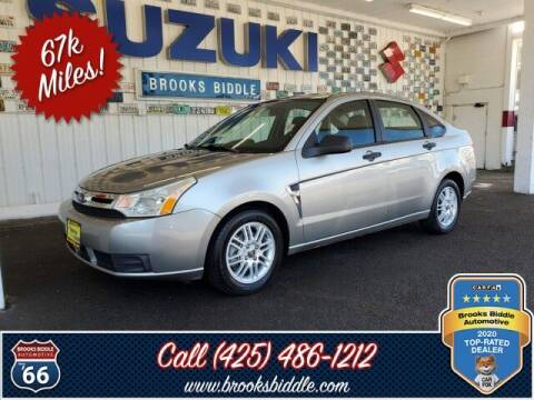 2008 Ford Focus for sale at BROOKS BIDDLE AUTOMOTIVE in Bothell WA
