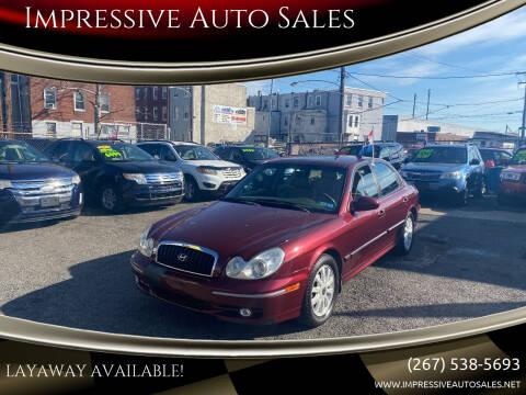2003 Hyundai Sonata for sale at Impressive Auto Sales in Philadelphia PA