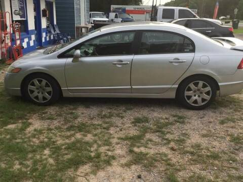 2006 Honda Civic for sale at Nash's Auto Sales Used Car Dealer in Milton FL