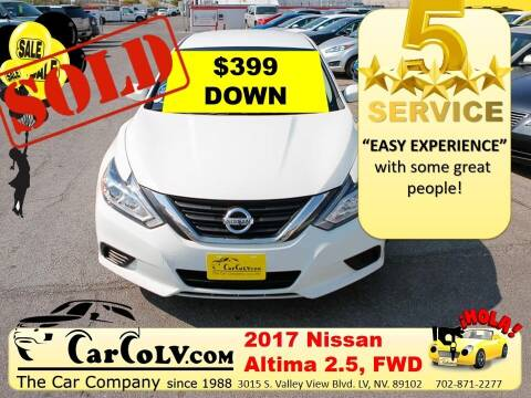 2017 Nissan Altima for sale at The Car Company in Las Vegas NV