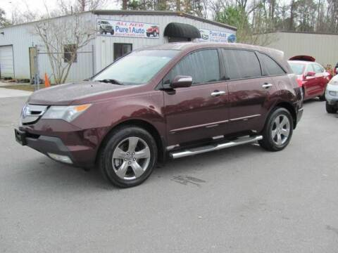 2008 Acura MDX for sale at Pure 1 Auto in New Bern NC