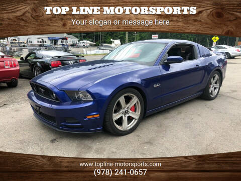 2013 Ford Mustang for sale at Top Line Motorsports in Derry NH