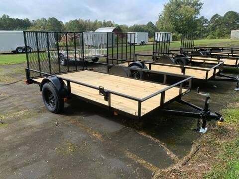 2021 New Triple Crown 6.4x12 GW Utility Trailer for sale at Tripp Auto & Cycle Sales Inc in Grimesland NC