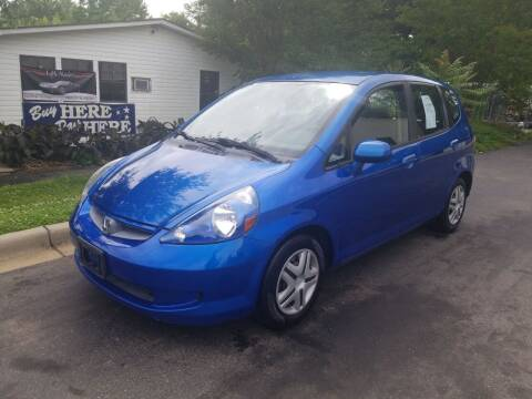 2007 Honda Fit for sale at TR MOTORS in Gastonia NC