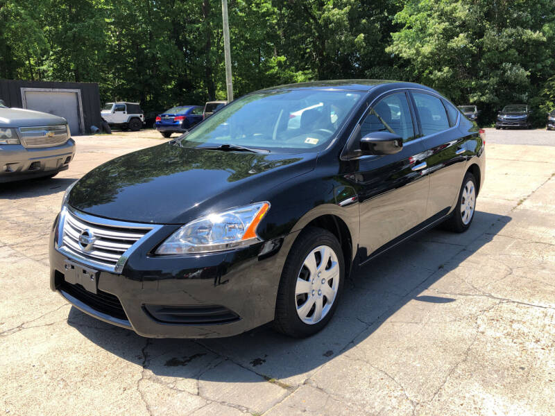 2015 Nissan Sentra for sale at Oceana Motors in Virginia Beach VA