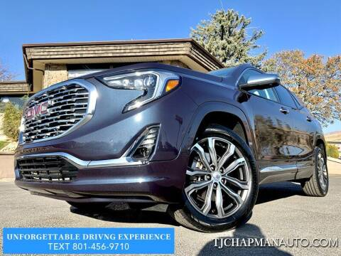 2019 GMC Terrain for sale at TJ Chapman Auto in Salt Lake City UT