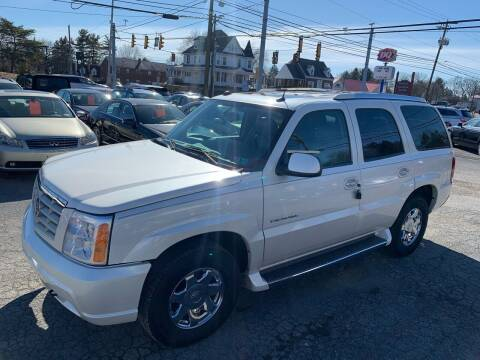 2005 Cadillac Escalade for sale at Masic Motors, Inc. in Harrisburg PA