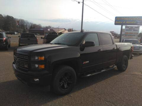 2015 Chevrolet Silverado 1500 for sale at Pepp Motors in Marquette MI