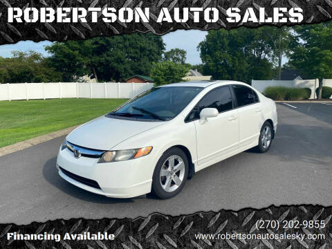 2006 Honda Civic for sale at ROBERTSON AUTO SALES in Bowling Green KY