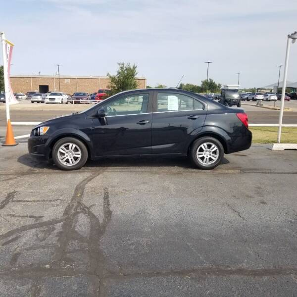2015 Chevrolet Sonic for sale at Credit Connection Auto Sales in Midwest City OK