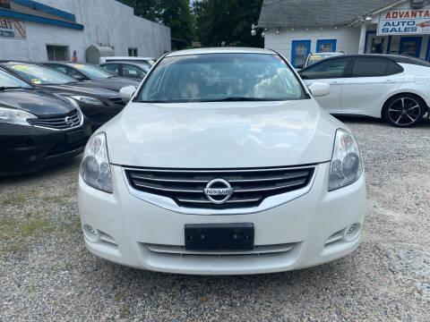 2010 Nissan Altima for sale at Advantage Motors in Newport News VA