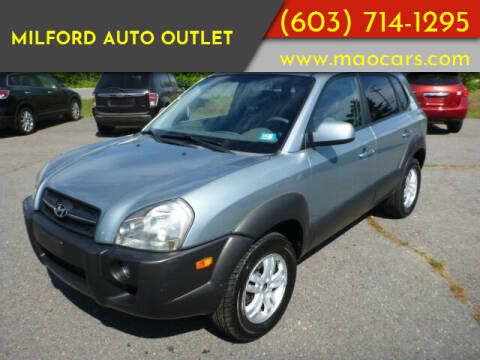 2006 Hyundai Tucson for sale at Milford Auto Outlet in Milford NH