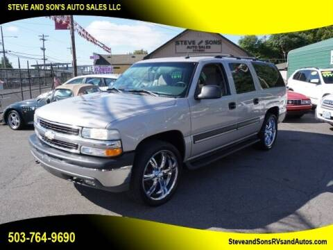 2004 Chevrolet Suburban for sale at Steve & Sons Auto Sales in Happy Valley OR