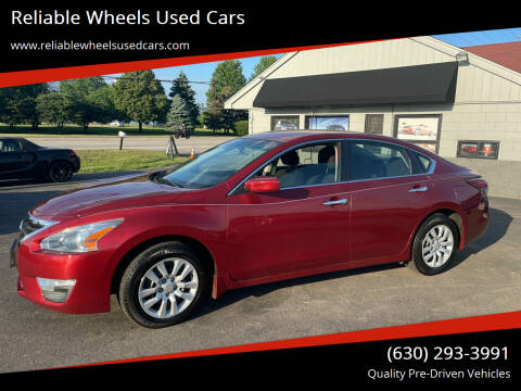 2014 Nissan Altima for sale at Reliable Wheels Used Cars in West Chicago IL