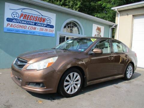 2011 Subaru Legacy for sale at Precision Automotive Group in Youngstown OH