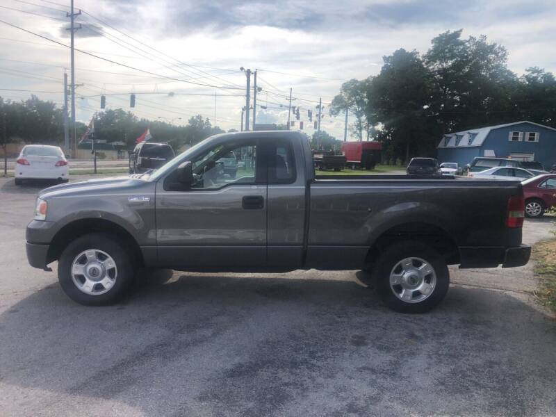 2004 Ford F-150 for sale at BELL AUTO & TRUCK SALES in Fort Wayne IN