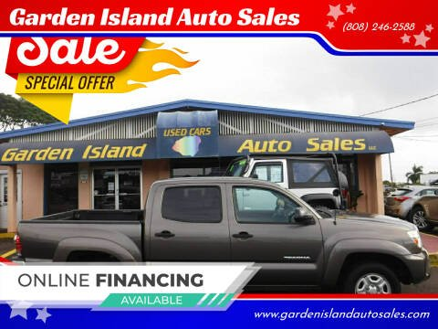 2012 Toyota Tacoma for sale at Garden Island Auto Sales in Lihue HI