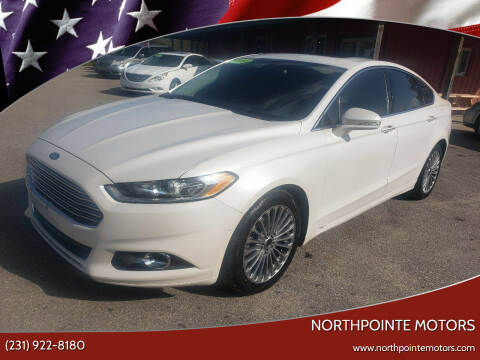 2014 Ford Fusion for sale at Northpointe Motors in Kalkaska MI