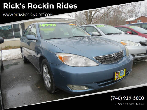 2003 Toyota Camry for sale at Rick's Rockin Rides in Reynoldsburg OH
