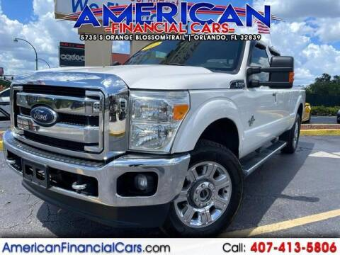 2012 Ford F-250 Super Duty for sale at American Financial Cars in Orlando FL