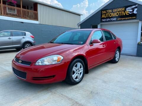 2008 Chevrolet Impala for sale at Dalton George Automotive in Marietta OH