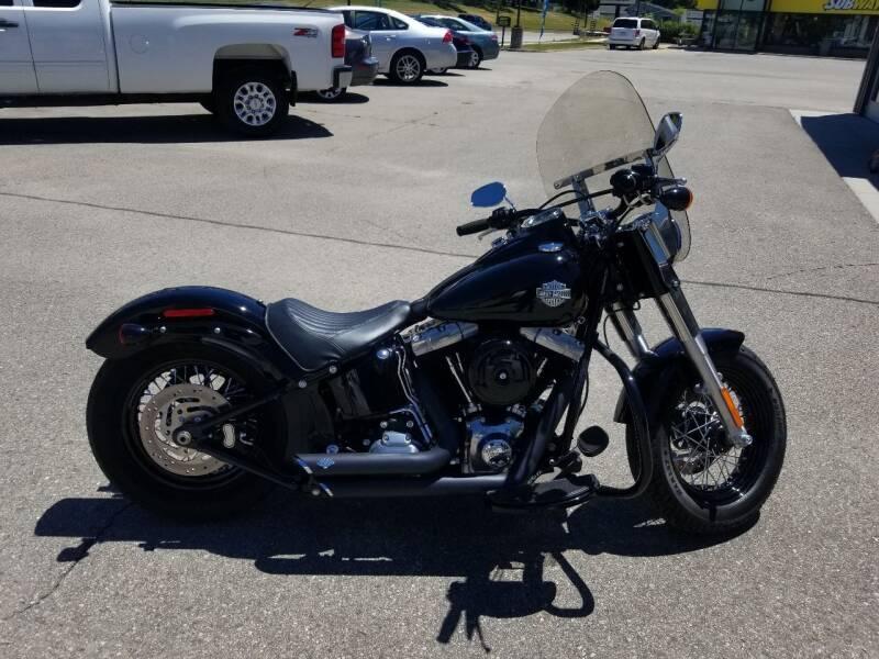 2014 Harley Davidson Softail Slim for sale at Chatfield Motors in Chatfield MN