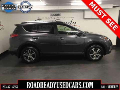 2017 Toyota RAV4 for sale at Road Ready Used Cars in Ansonia CT