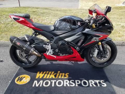 2014 Suzuki GSX-R750 for sale at WILKINS MOTORSPORTS in Brewster NY