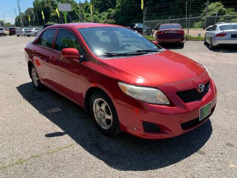 2010 Toyota Corolla for sale at Super Wheels-N-Deals in Memphis TN