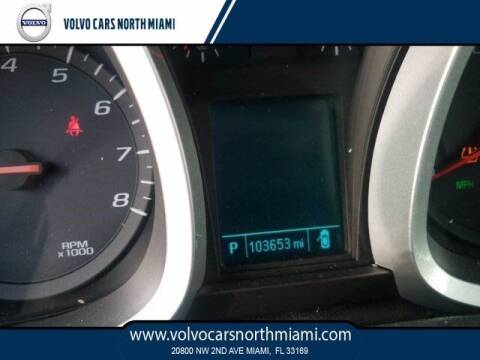 2013 Chevrolet Equinox for sale at Volvo Cars North Miami in Miami FL