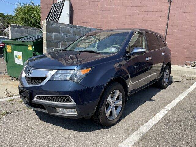 2012 Acura MDX for sale at SOUTHFIELD QUALITY CARS in Detroit MI